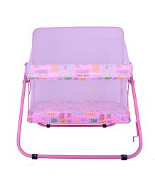 Mothertouch Jumbo Cradle With Mosquito Net - Pink