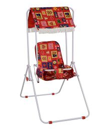Mothertouch Garden Swing - Red