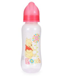 Disney Winnie The Pooh Feeding Bottle Pink - 250 ml