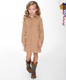 Yo Baby Shirt Dress - Beige