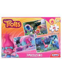 Frank Trolls 3 In 1 Jigsaw Puzzle - 48 Pieces