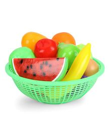 Ratnas Fresh Fruit Basket Green - 12 Pieces