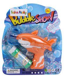 Bubble Gun Shark Shaped - Orange And Green