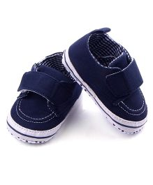 Wow Kiddos Antislip Soft Sole Baby Shoes - Navy Blue