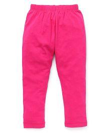 Vitamins Solid Colour Leggings - Pink