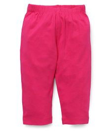 Vitamins Solid Colour Leggings - Dark Pink