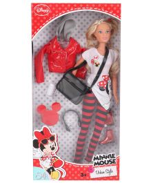 Disney Minnie Mouse Steffi Love Urban Style Doll - 29 cm