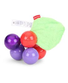 Fisher Price Twist & Turn Grapes Set - Red Purple