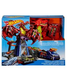 Hot Wheels Dragon Smash Blast - Multi Color