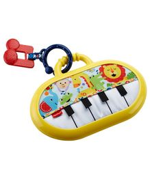 Fisher Price Move N Groove Piano - Yellow