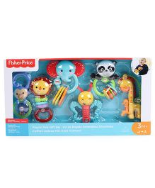 Fisher Price Playful Pals Gift Set - Multi Color