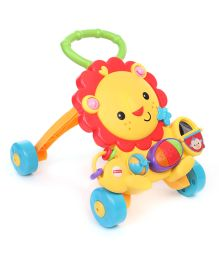 Fisher Price Musical Walker Lion Shape  - Multicolor