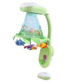 Fisher Price Deluxe Projection Mobile - Green