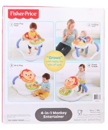 Fisher Price 4 in 1 Monkey Entertainer Rocker - Multicolor