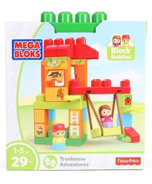 Mega Bloks Tree House Adventures Building Blocks -  29 Pieces