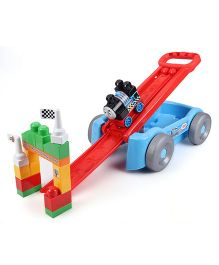 Mega Bloks Thomas Racin Railway Wagon Set - Multi Color