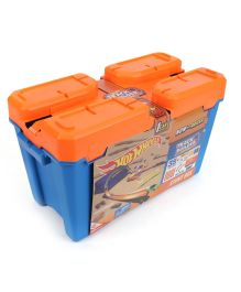 Hot Wheels Track Builder Stunt Box - Blue & Orange