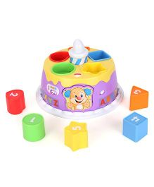 Fisher Price SS Birthday Cake - Multi Color