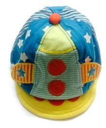 Princess Cart Colourful Visor Cap - Multicolour