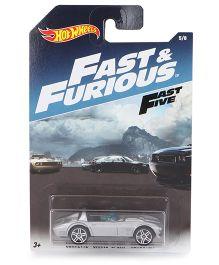 Hotwheels Fast And Furious Corvette Grand Sport Roadsster - Grey