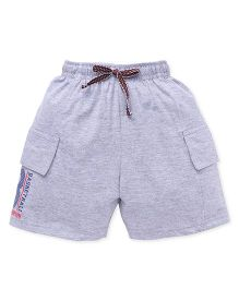 Fido Shorts With Cargo Style Pockets - Grey