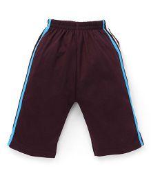 Fido Full Length Track Pants - Brown