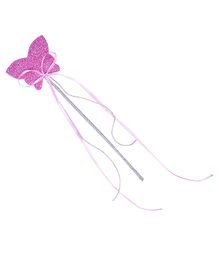 Carolz Jewelry Butterfly Shaped Fairy Wand - Purple