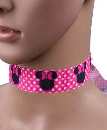 Carolz Jewelry Cartoon Design Choker Chain - Pink