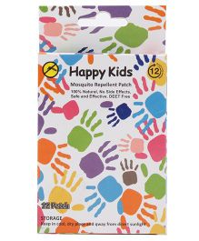 Happy Kids Mosquito Patches - 12 Patches