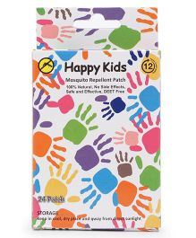 Happy Kids Mosquito Patches - 24 Patches