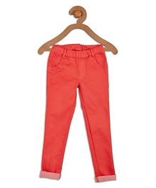 612 League Full Length Jeggings - Coral