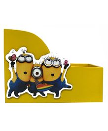 Li'll Pumpkins Cartoon Mini Book Rack - Yellow