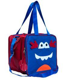 Li'll Pumpkins Character Multipurpose Bag - Blue & Blue