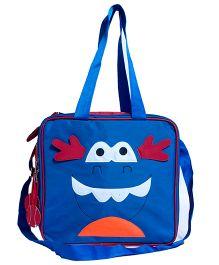 Li'll Pumpkins Character Multipurpose Bag - Blue & Pink