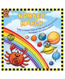 Number March Early Learning Book For Kids With General Knowledge - English