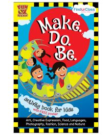 Make Do Be Activity Book For Kids - English
