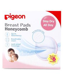 Pigeon Breast Pads Honeycomb - 42 Pieces