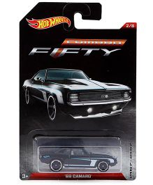 Hot Wheels Toy Car 69 Camaro FFTY - Black