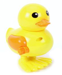 Toymaster Wind Up Bird Duck - Yellow