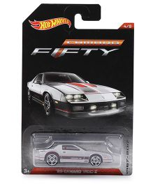 Hotwheels Toy Car 85 Camaro Iroc Z FFTY - Grey