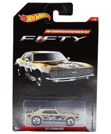 Hotwheels Toy Car 67 Camaro FFTY - Beige