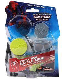 Majorette Marvel Spider Man Web Attack Battle Game - Multicolor