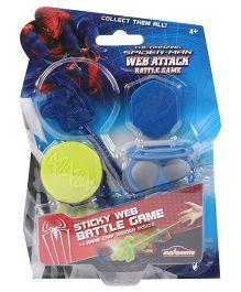 Majorette Marvel Spiderman Web Attack Battle Game - Multicolor