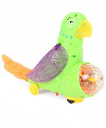 Playmate The Parrot Wings Have Action Musical Toy (Color May Vary)