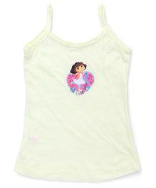 Dora Singlets Slips With Print - Yellow