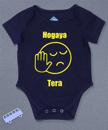 Blue Bus Store Hogaya Tera Short Sleeves Onesie - Blue