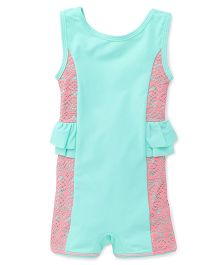 Pinehill Sleeveless Legged Swimsuit - Light Green
