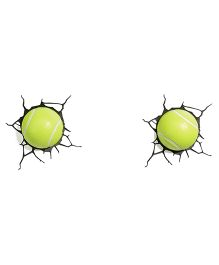3d Lights Tennis Ball 3D Deco Lights - Green