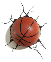 3D Light Basketball 3D Deco Light - Brown