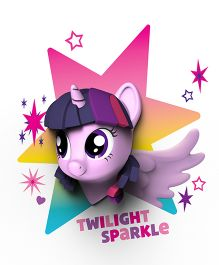 3D Light My Little Pony Rainbow Dash Led Light - Purple